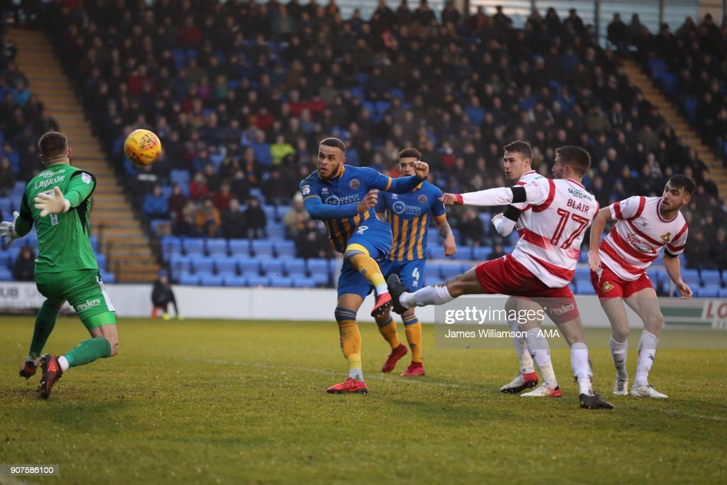 Shrewsbury Town v Doncaster Rovers - Sky Bet League One