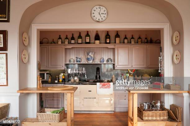 carlton towers, yorkshire - domestic kitchen stock pictures, royalty-free photos & images