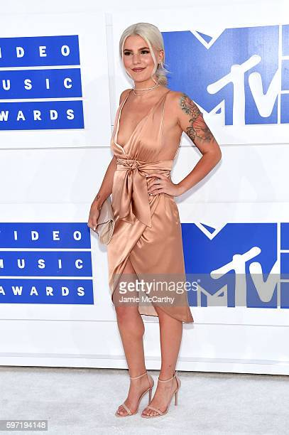 Carly Aquilino attends the 2016 MTV Video Music Awards at Madison Square Garden on August 28 2016 in New York City