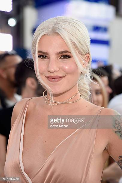 Carly Aquilino of Girl Code attends the 2016 MTV Video Music Awards at Madison Square Garden on August 28 2016 in New York City