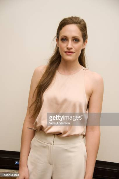 Carly Chaikin at the Mr Robot Press Conference at the Four Seasons Hotel on June 5 2017 in Beverly Hills California