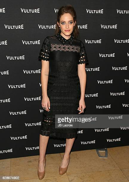 Carly Chaikin attends the Vulture Awards Season Party on December 08, 2016 in West Hollywood, California.