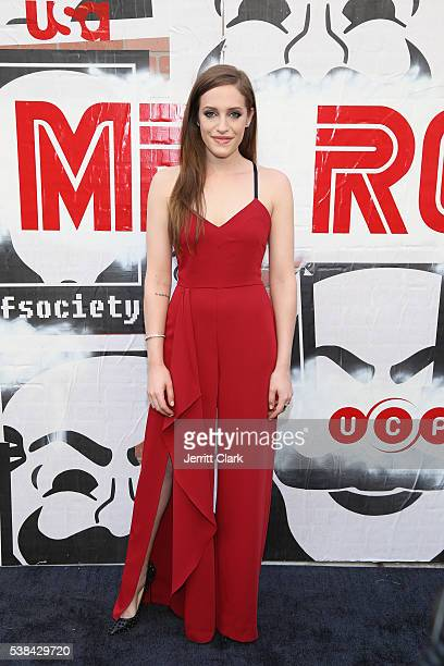 Carly Chaikin attends USA Network's Mr Robot For Your Consideration event at Metrograph on June 6 2016 in New York City