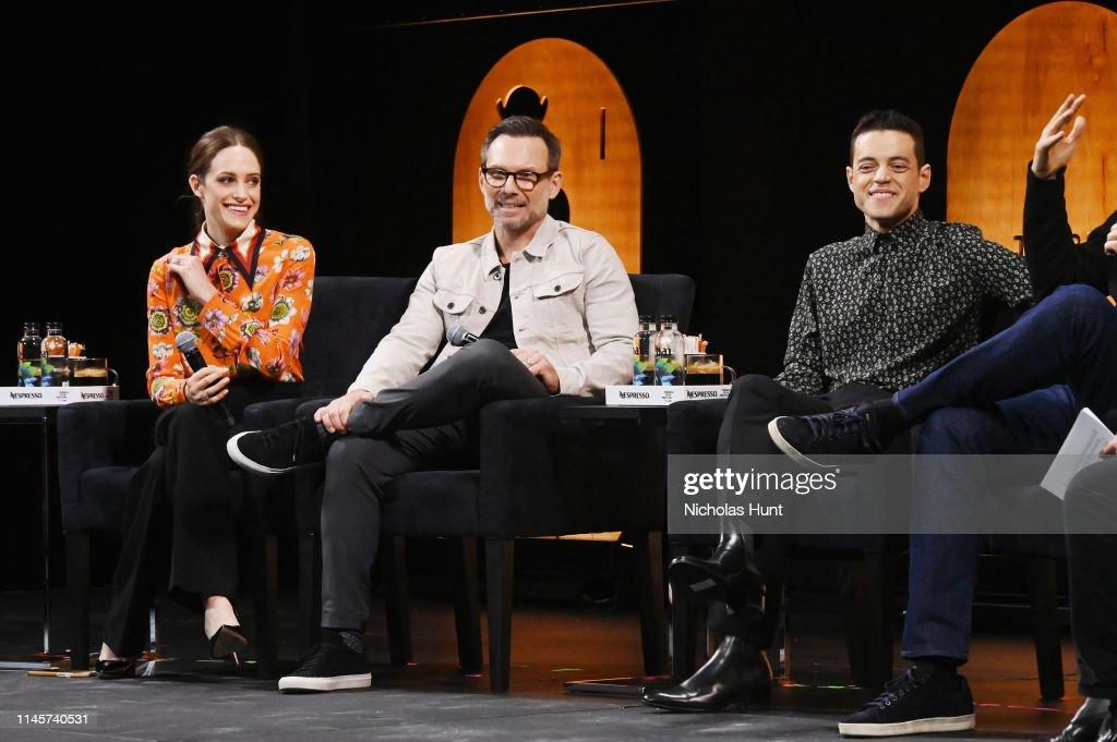 Tribeca Talks - A Farewell To Mr. Robot - 2019 Tribeca Film Festival : Nachrichtenfoto