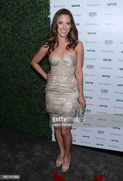 Carly Craig attends the Vanity Fair And Juicy Couture Celebration Of The 2013 Vanities Calendar With Olivia Munn at Chateau Marmont on February 18...