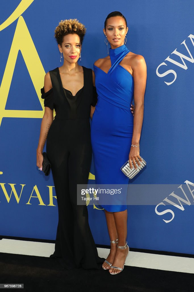 28de6f8dcf2 Carly Cushnie and Lais Ribeiro attend the 2018 CFDA Awards at ...