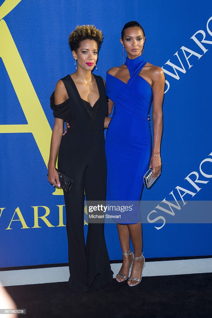 1cb9d6999ef Carly Cushnie and Lais Ribeiro attend the 2018 CFDA Fashion Awards ...
