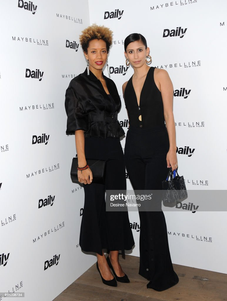 Carly Cushnie and Michelle Ochs attend Daily Front Row's 15th Anniversary Celebration on February 6, 2018 in New York City.