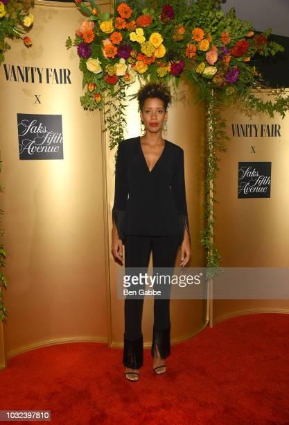 Carly Cushnie attends as Vanity Fair and Saks Fifth Avenue celebrate Vanity Fair's BestDressed 2018 at Manhatta on September 12 2018 in New York City
