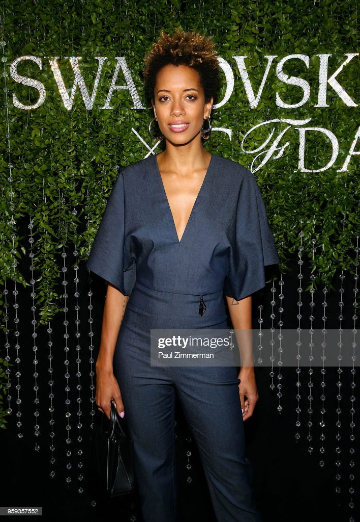 Carly Cushnie attends the 2018 CFDA Fashion Awards' Swarovski Award For Emerging Talent Nominee Cocktail Party at DUMBO House on May 16, 2018 in New York City.