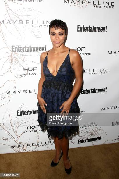 Carly Hughes attends Entertainment Weekly's Screen Actors Guild Award Nominees Celebration sponsored by Maybelline New York at Chateau Marmont on...