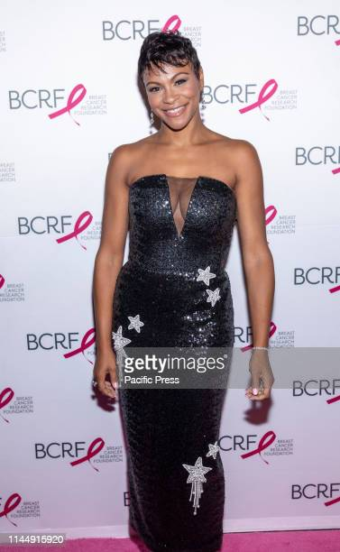Carly Hughes attends the Breast Cancer Research Foundation 2019 Hot Pink Party at Park Avenue Armory Manhattan