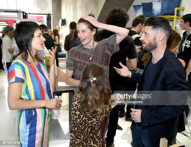 Carly Jo Morgan actress Michelle Monaghan and Paul Davidge attend Not So General Presents 'Transmutation' an inaugural show and the debut of new...