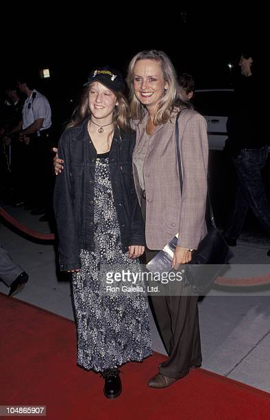 Carly Lawson and mother Twiggy Lawson during World Premiere of The Remains of the Day at The Academy of Motion Picture Arts Sciences in Beverly Hills...