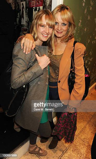 Carly Lawson and Twiggy attend the Matthew Williamson and Belvedere Vodka party to celebrate their collaboration at Matthew Williamson on May 26 2010...
