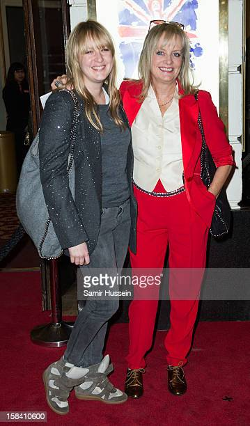 Carly Lawson and Twiggy attend the press night of 'Viva Forever' a musical based on the music of The Spice Girls at Piccadilly Theatre on December 11...