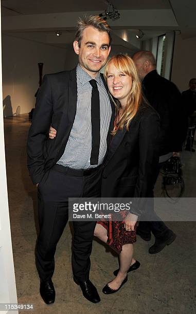 Carly Lawson attends a private viewing of 'A Life In Photographs An Exhibition of Photography by Linda McCartney' at Phillips de Pury And Company on...