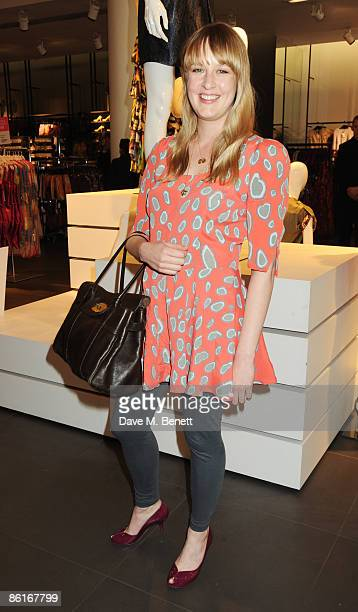Carly Lawson attends the launch party for Matthew Williamson's new collection for HM at HM Regent Street on April 22 2009 in London England