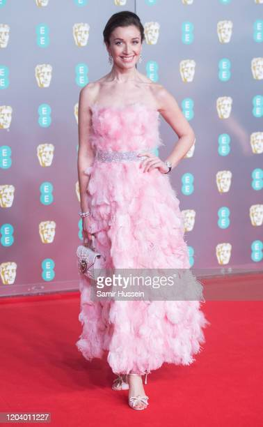 Carly Paoli attends the EE British Academy Film Awards 2020 at Royal Albert Hall on February 02 2020 in London England