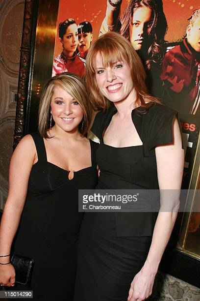 Carly Patterson and Director/Writer Jessica Bendinger