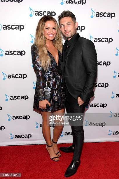 Carly Pearce and Michael Ray attend the 57th Annual ASCAP Country Music Awards on November 11 2019 in Nashville Tennessee