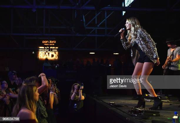 Carly Pearce at Pandora Presents Backroads at Marathon Music Works on June 5 2018 in Nashville Tennessee
