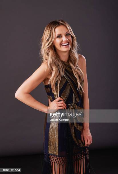 Carly Pearce attends Big Machine Label Group Celebrates the 52nd Annual CMA Awards in Nashville at FGL House on November 14 2018 in Nashville...