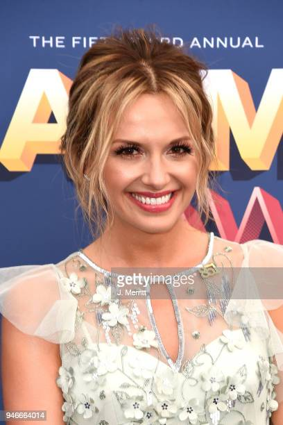 Carly Pearce attends the 53rd Academy of Country Music Awards at the MGM Grand Garden Arena on April 15 2018 in Las Vegas Nevada