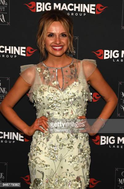 Carly Pearce attends the 53rd Annual ACM Awards celebration with Big Machine Label Group at MGM Grand Hotel Casino on April 15 2018 in Las Vegas...