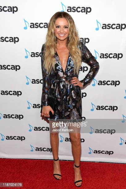 Carly Pearce attends the 57th Annual ASCAP Country Music Awards on November 11 2019 in Nashville Tennessee