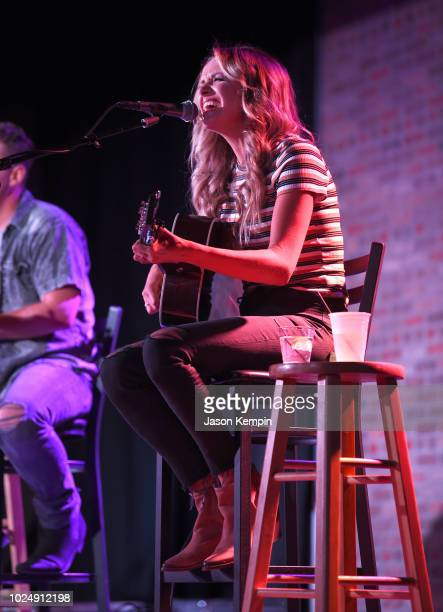 Carly Pearce performs at Listening Room Cafe on August 28 2018 in Nashville Tennessee