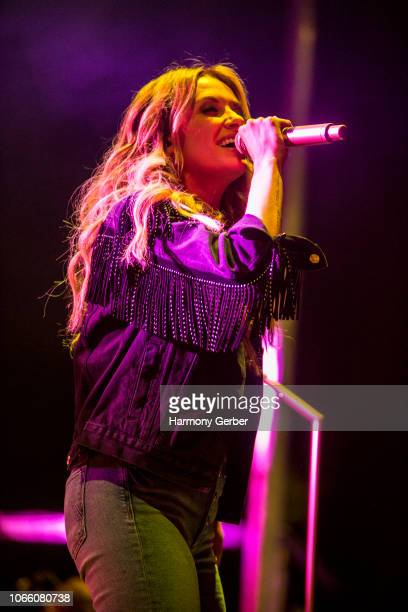 Carly Pearce performs at the 2018 Driftwood Country Music Craft Beer BBQ Festival at Doheny State Beach on November 10 2018 in Dana Point California