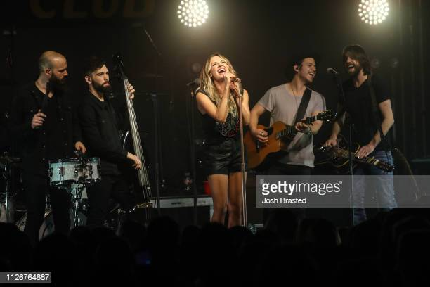 Carly Pearce performs at the Texas Club as part of 'The Way Back Tour' on February 21 2019 in Baton Rouge Louisiana