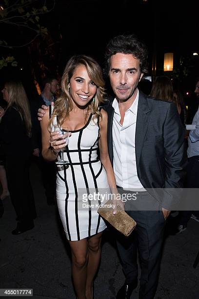 Carly Pearlstein and Shawn Levy attend the Tribeca Film Institute Annual Gala Benefit Screening Of This Is Where I Leave You After Party at Tavern On...