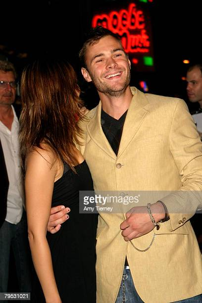 Carly Pope and Patrick Flueger