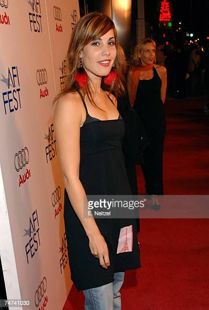 Carly Pope at the ArcLight in Hollywood California
