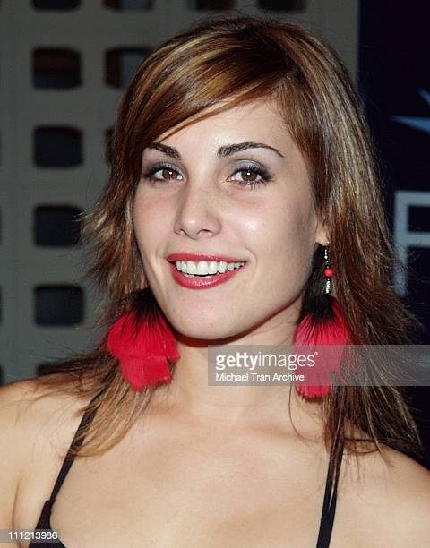 Carly Pope during AFI Fest 2005 'The World's Fastest Indian' Los Angeles Premiere Arrivals at Cinerama Dome Arclight in Hollywood California United...