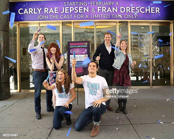 Carly Rae Jepsen and Joe Carroll of Broadway's 'Cinderella' Mary Michael Patterson and Jeremy Hays of Broadway's ''The Phantom Of The Opera'' and...