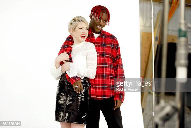 Carly Rae Jepsen and Lil Yachty OnSet with Target for It Takes Two Remake and Commercial to Air During 59th Annual Grammy Awards on January 23 2017...