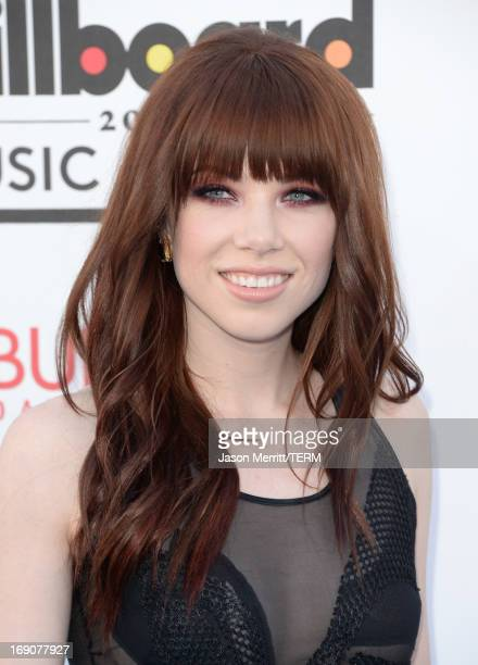 Carly Rae Jepsen arrives at the 2013 Billboard Music Awards at the MGM Grand Garden Arena on May 19 2013 in Las Vegas Nevada