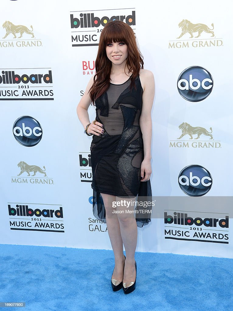 Carly Rae Jepsen arrives at the 2013 Billboard Music Awards at the MGM Grand Garden Arena on May 19, 2013 in Las Vegas, Nevada.