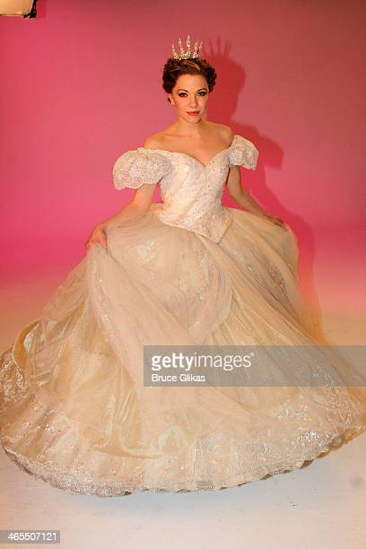 Carly Rae Jepsen as Cinderella during a photo shoot for Rodgers Hammerstein's Cinderella on Broadway with Carly Rae Jepsen Fran Drescher at City...