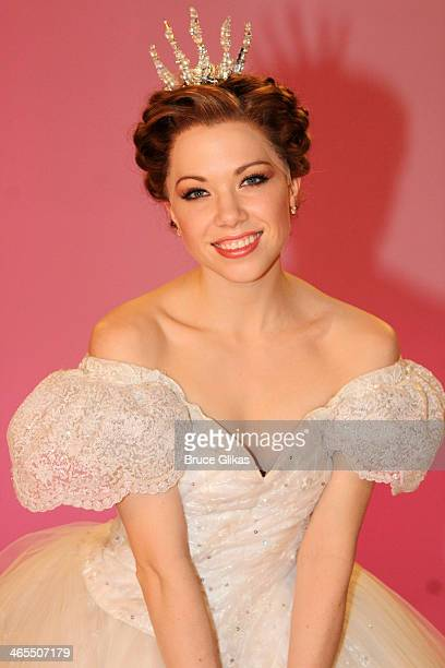 Carly Rae Jepsen as 'Cinderella' during a photo shoot for 'Rodgers Hammerstein's 'Cinderella' on Broadway with Carly Rae Jepsen Fran Drescher at City...