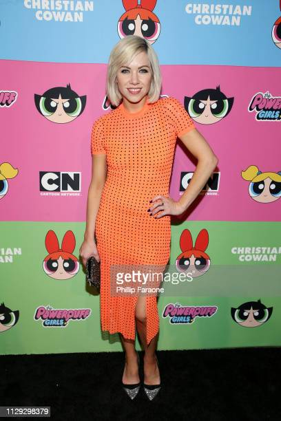 Carly Rae Jepsen attends Christian Cowan x The Powerpuff Girls at City Market Social House on March 8 2019 in Los Angeles California
