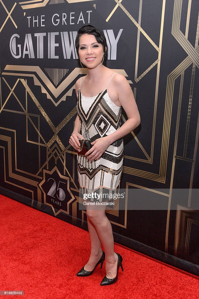 Carly Rae Jepsen attends the 2016 Gateway For Cancer Research Cures Gala at Navy Pier Aon Grand Ballroom on October 15, 2016 in Chicago, Illinois.