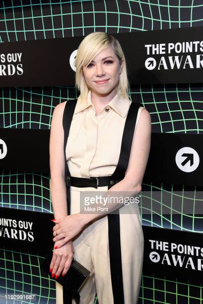 Carly Rae Jepsen attends The 2019 TPG Awards at The Intrepid Sea Air Space Museum on December 09 2019 in New York City
