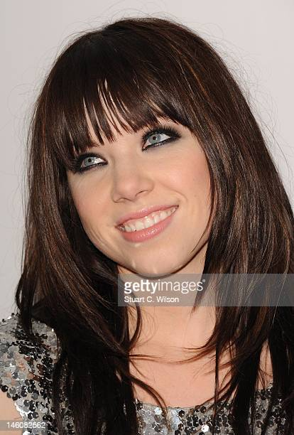 Carly Rae Jepsen attends The Capital FM Summertime Ball 2012 at Wembley Stadium on June 9 2012 in London United Kingdom