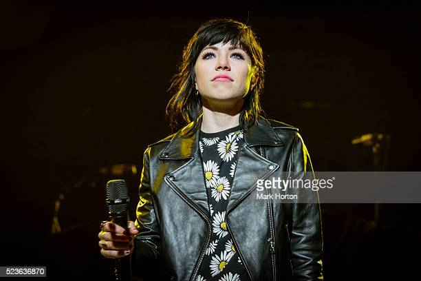 Carly Rae Jepsen performs at the Canadian Tire Centre on April 23 2016 in Ottawa Canada