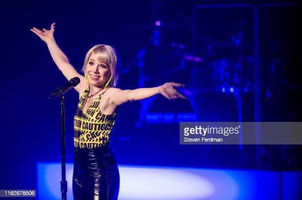 Carly Rae Jepsen performs during The Dedicated Tour at Hammerstein Ballroom on July 17 2019 in New York City