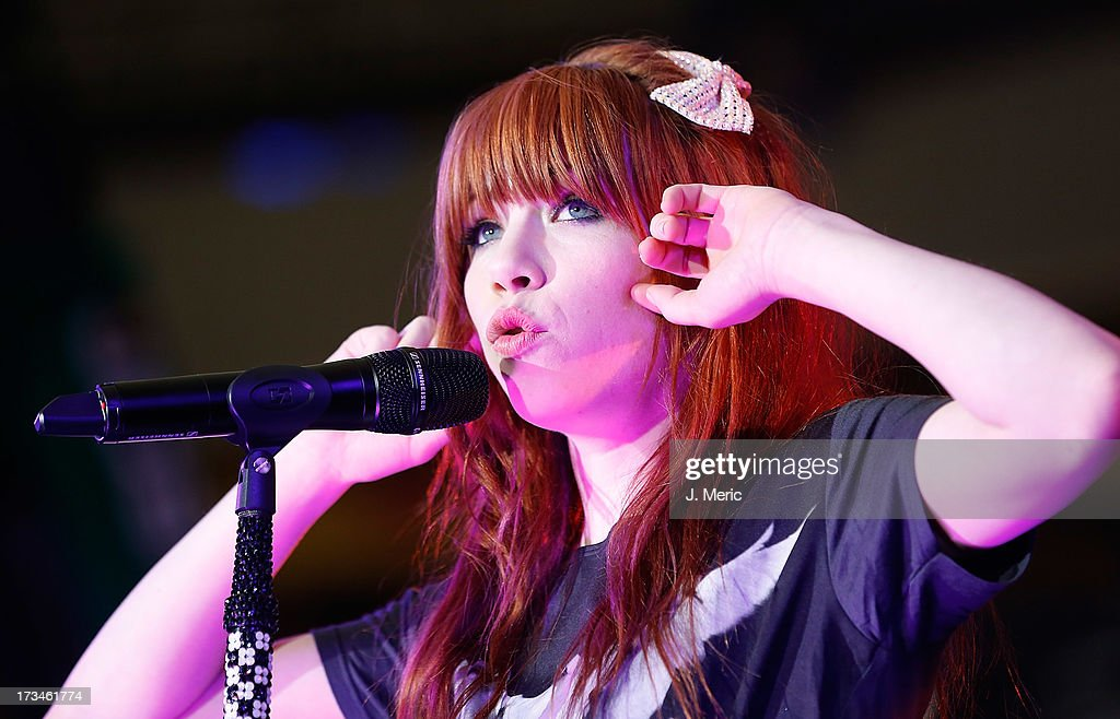 Carly Rae Jepsen performs during the Rays Summer Concert Series at Tropicana Field on July 14, 2013 in St Petersburg, Florida.
